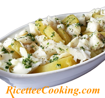 Baccal� e patate light