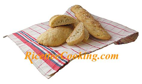 Baguette (o ciabatta) senza impasto