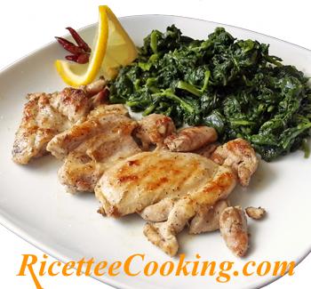 Bistecchine di pollo alla piastra