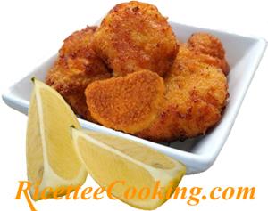 Bocconcini di pollo fritto alla fiorentina