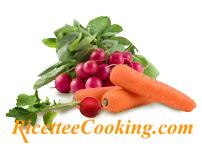 Ravanelli e carote
