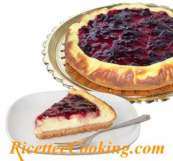 Cheesecake di ricotta e marmellata
