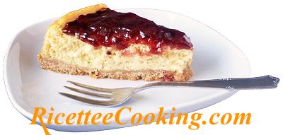 Cheesecake di ricotta e marmellata senza glutine