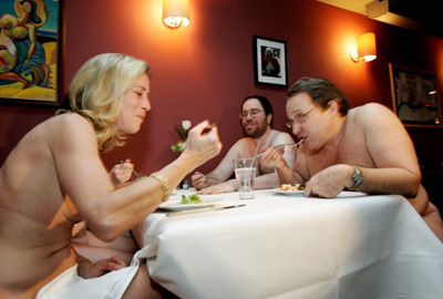 Ristorante Clothing Optional Dinner