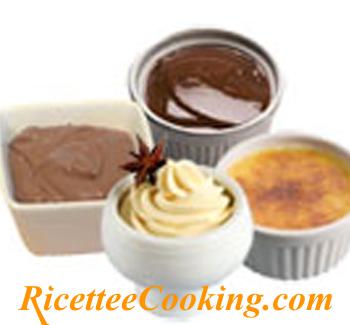 Crema di ricotta e cioccolato