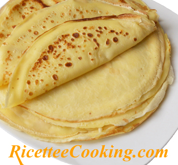 Crepes all'ananas