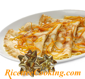 Crepes all'arancia (Crepes suzette)