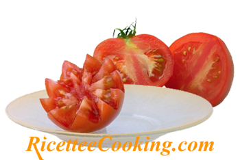 Decorazioni con il pomodoro