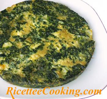 Frittata di spinaci e formaggi filanti ricetta for Ricette culinarie