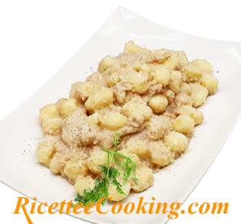Gnocchi di patate alla crema di finocchi
