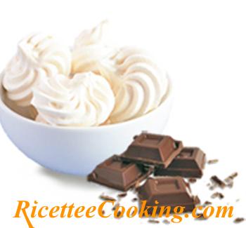 Meringhe panna e cioccolato