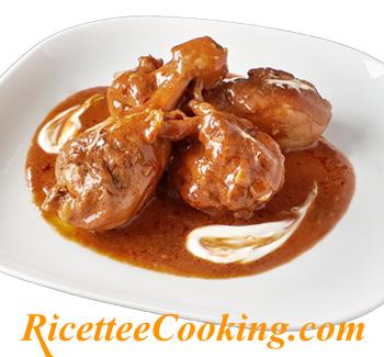 Pollo alla paprika (paprikas csirke)