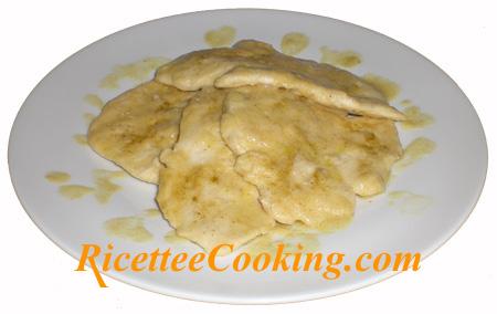 Scalopppine di pollo alla senape