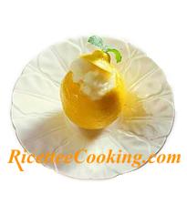 100 g. di sorbetto al limone: 132 kcal