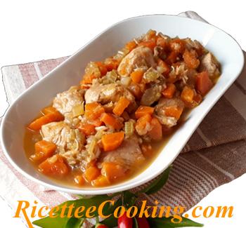 Spezzatino sedano e carote