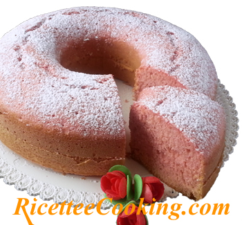Ciambella all'acqua rosa