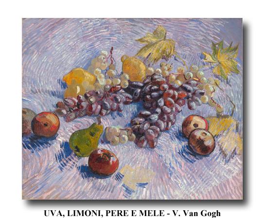 Uva, limoni, pere e mele