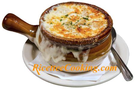 Ricetta Zuppa Cipolle Francese.Zuppa Di Cipolle Francese Soupe A L Oignon Ricetta
